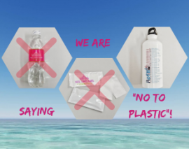 "All Dreams Cambodia is saying ""NO to Plastic !""  in 2019 !"